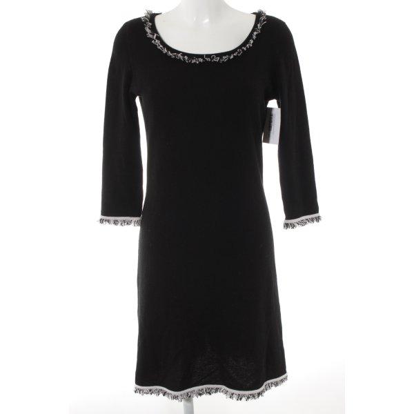 Princess goes Hollywood Abito di maglia nero stile casual