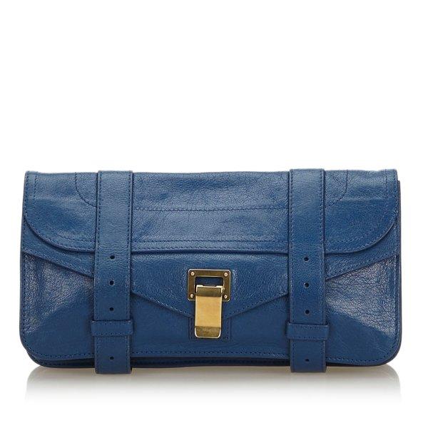 Proenza Schouler Leather PS1 Pochette Clutch