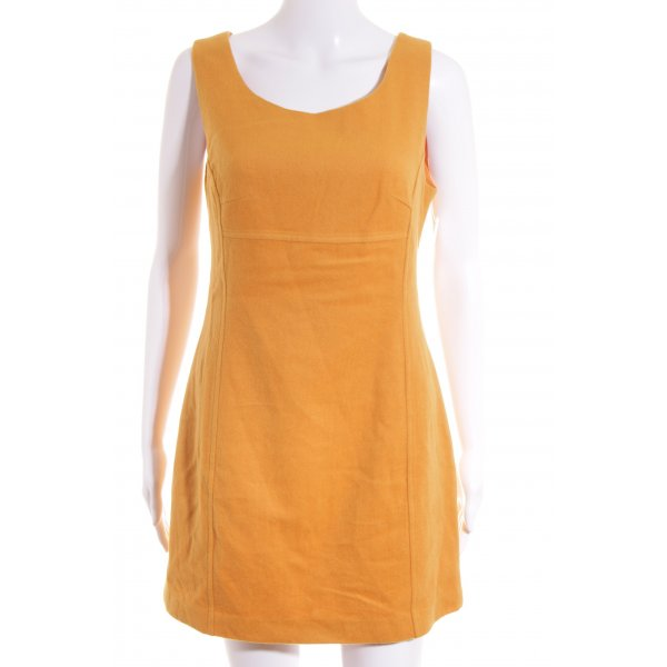 Promod Kleid orange 70ies-Stil