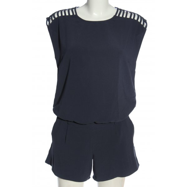 Promod Kurzer Jumpsuit schwarz Casual-Look