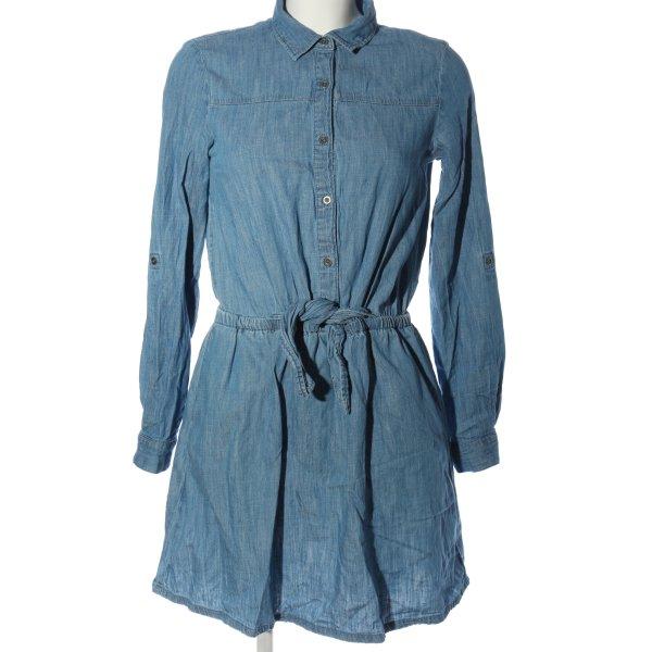 Promod Minikleid blau Casual-Look