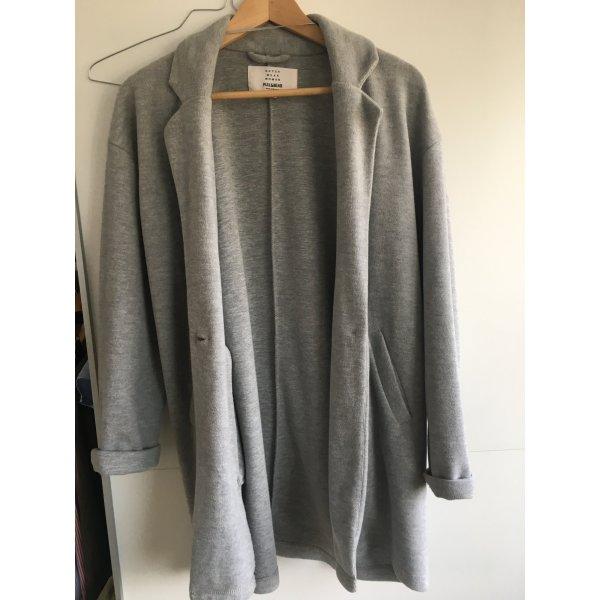 Pull & Bear Cappotto mezza stagione grigio-grigio chiaro