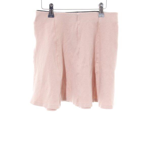 Pull & Bear Skaterrock pink Casual-Look