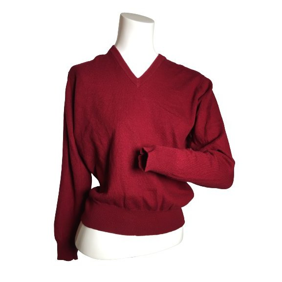 Knitted Sweater bordeaux