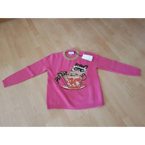 Pullover aus Wollstrick mit ignasi monreal motiv