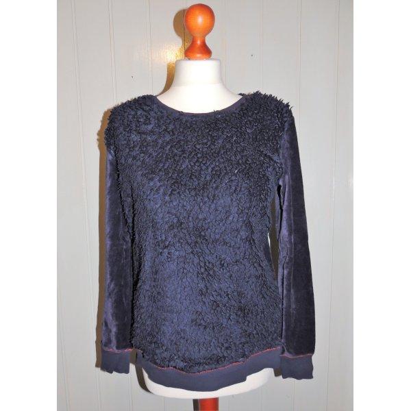 Best Connections Crewneck Sweater dark blue mixture fibre
