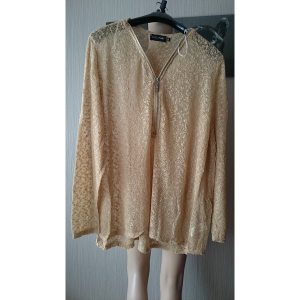 Pullover Gr: 52/54 Sand Farbe