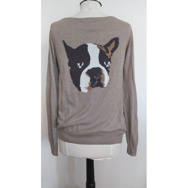 Pullover mit Hundemotiv