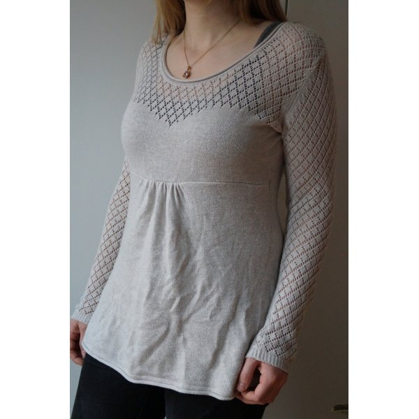 Pullover mit Netzärmeln Cut Out Gr.M Mama Collection H&M