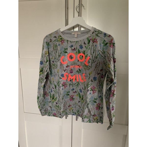 Pullover Statement Esprit Sweatshirt Florales Muster