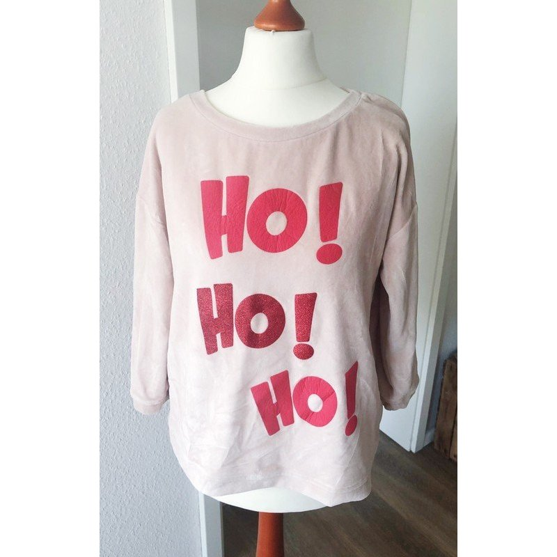 Pullover von Review rosa Weihnachten Sweater