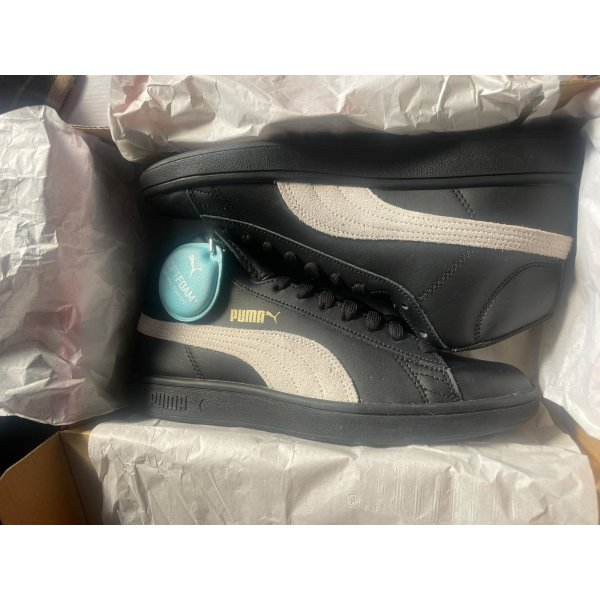 Puma Smash Sneaker high schwarz