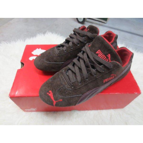 Puma Sneakers, Speed Cat, Gr. 37, neuwertig, dk braun