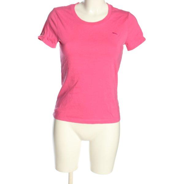 Puma T-Shirt pink Casual-Look