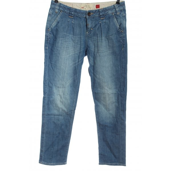 QS by s.Oliver Hüftjeans blau Casual-Look