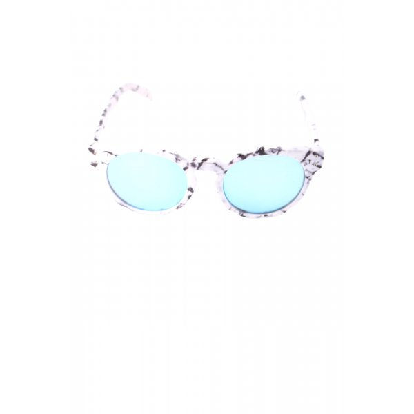 Quay Oval Sunglasses allover print casual look