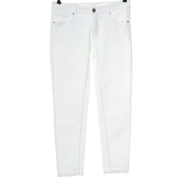 Rafaello Rossi Five-Pocket-Hose weiß Casual-Look
