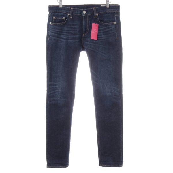 Rag & bone High Waist Jeans blau Casual-Look