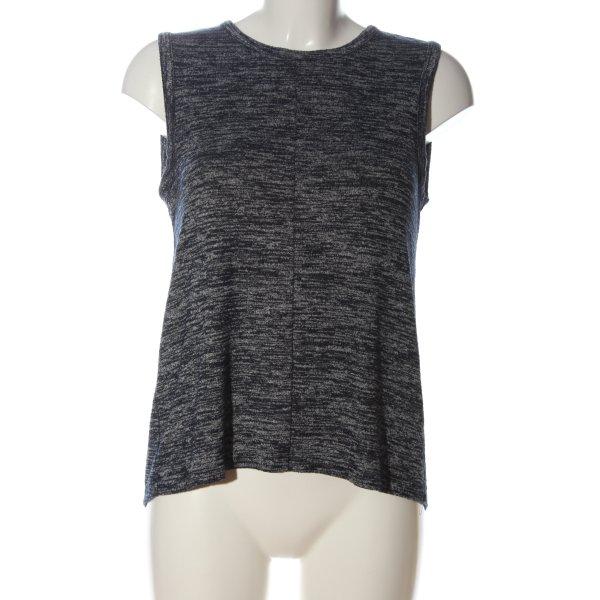 Rag & bone Strickshirt schwarz-weiß meliert Casual-Look