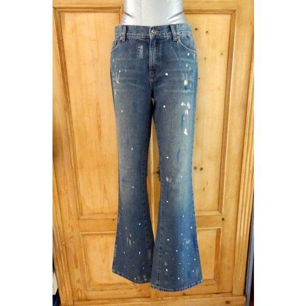 Ralph Lauren - Designer Jeans im Used Look - neu