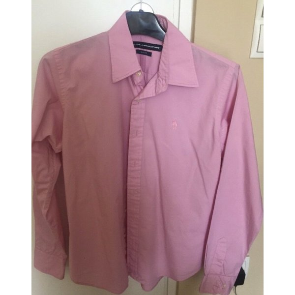 Ralph Lauren Camicia a maniche lunghe rosa chiaro