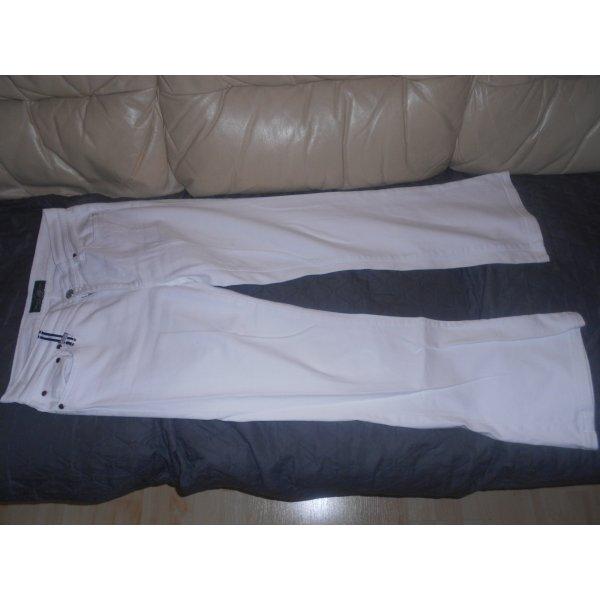 Ralph Lauren Jeans- weiße Bootcut Jeans Gr. 6 (34)