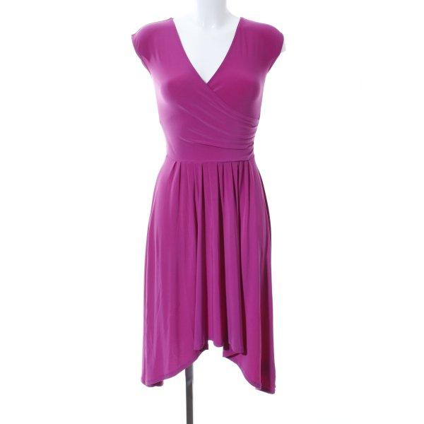 Ralph Lauren Midikleid pink Casual-Look