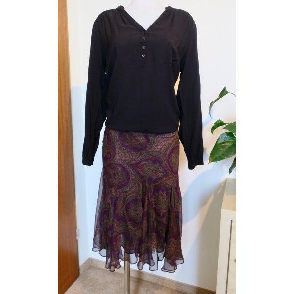 RALPH LAUREN Paisley Skirt, Gr. S - NEU