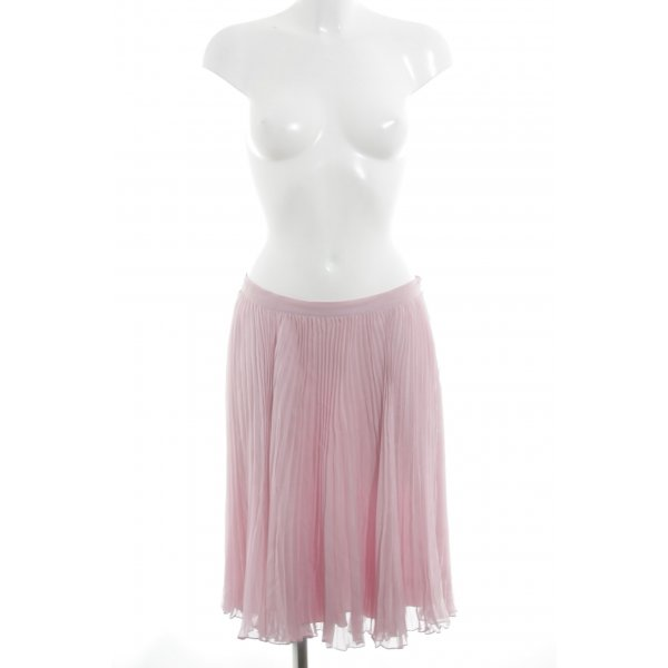Ralph Lauren Pleated Skirt pink casual look