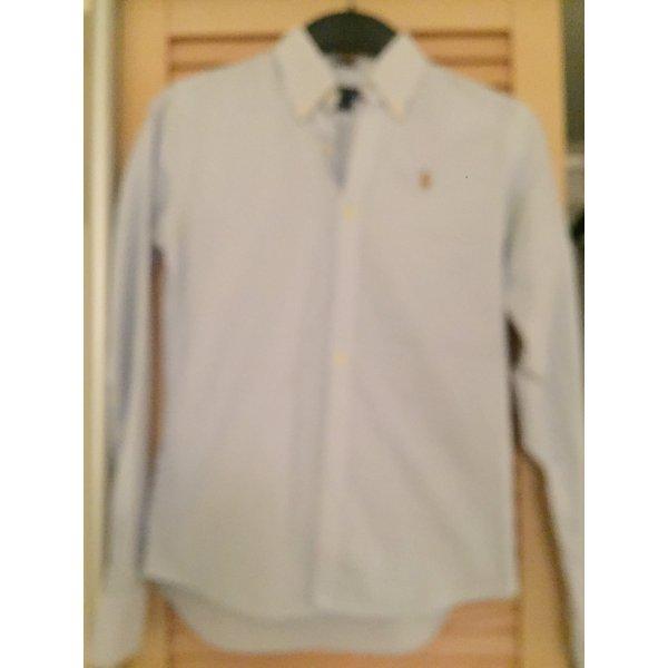 Ralph Lauren Slim fit Bluse blau weiß gestreift Polo wie neu