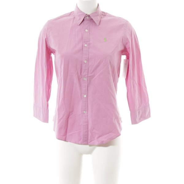 Ralph Lauren Sport Hemd-Bluse rosa Casual-Look