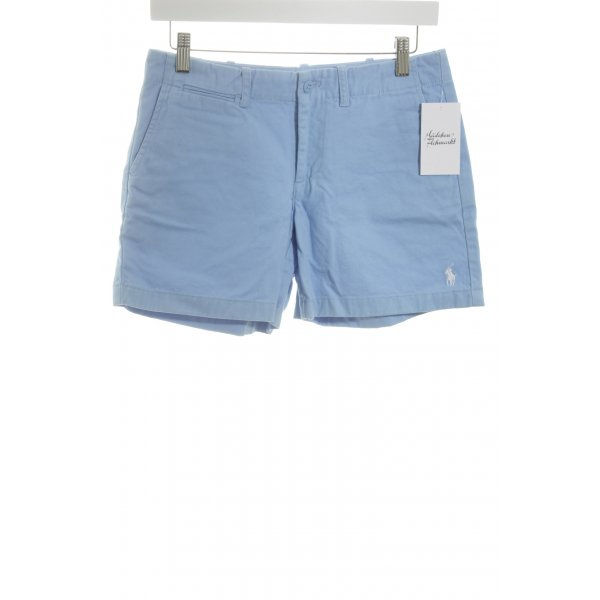 Ralph Lauren Sport Kurze Hose himmelblau Segel-Look