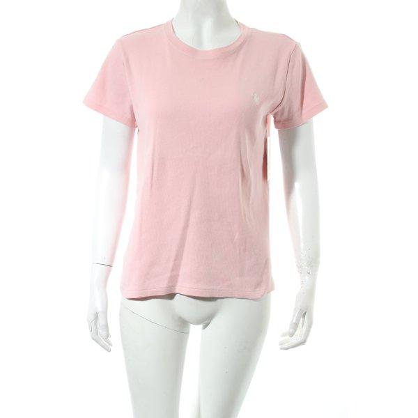 Ralph Lauren T-Shirt rosa Street-Fashion-Look