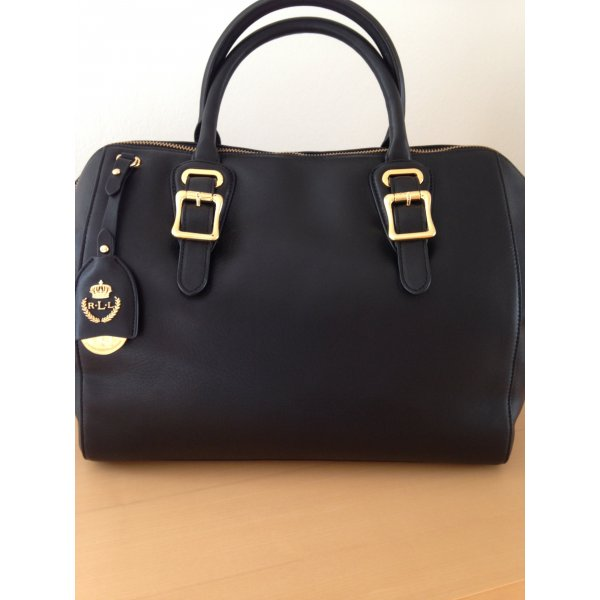 Ralph Lauren Tasche, Handtasche,neu, in Schwarz