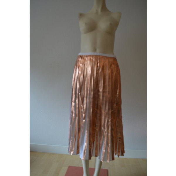 Raoul Pleated Skirt white-gold-colored polyester