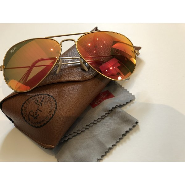 Ray Ban Aviator Flash Lenses