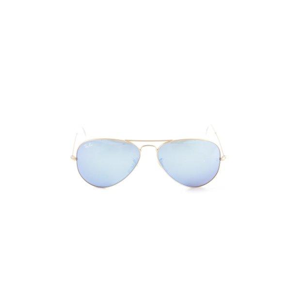 Ray Ban Pilot Brille blau-goldfarben Casual-Look