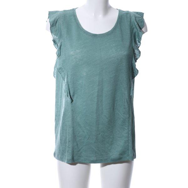 re.draft T-Shirt türkis meliert Casual-Look