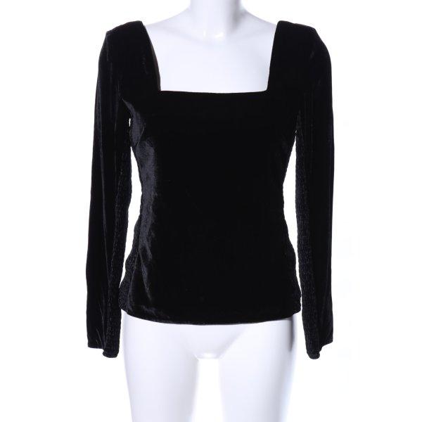 Rebecca taylor Langarm-Bluse schwarz Elegant