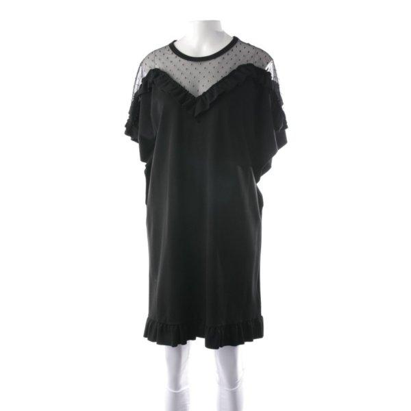 Red Valentino - Kleid mit Netzeinsatz u Volants # Grösse D 40/ D42