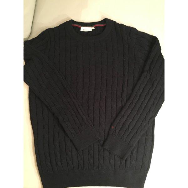 REDGREEN Strickpullover, Pullover mit Zopfmuster, dunkelblau, Gr. XXL, NEU und ungetragen