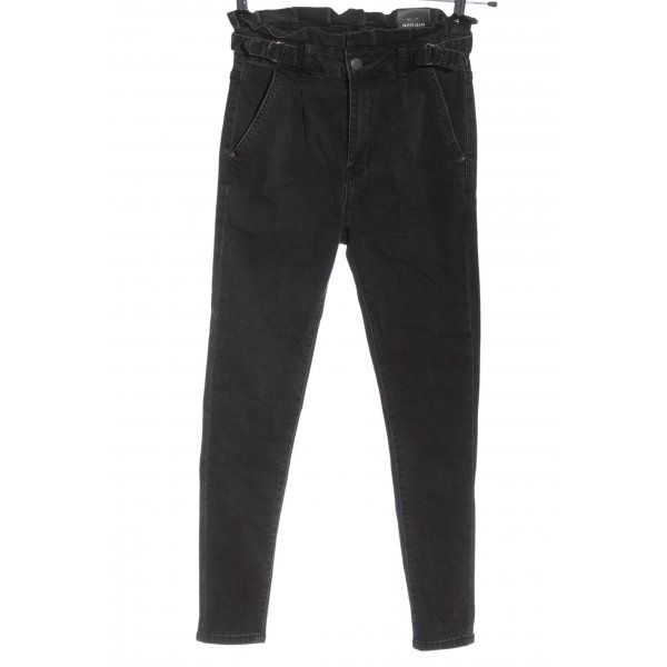 Redial High Waist Jeans schwarz Casual-Look