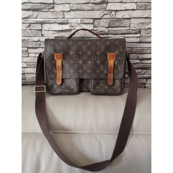 REDUZIERT Original Louis Vuitton Messenger Tasche Broadway Vintage Bag