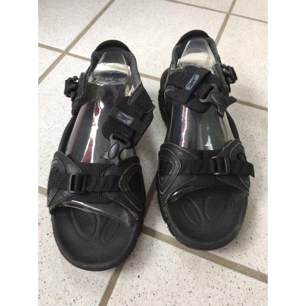 Reebok Sandalo outdoor nero Pelle