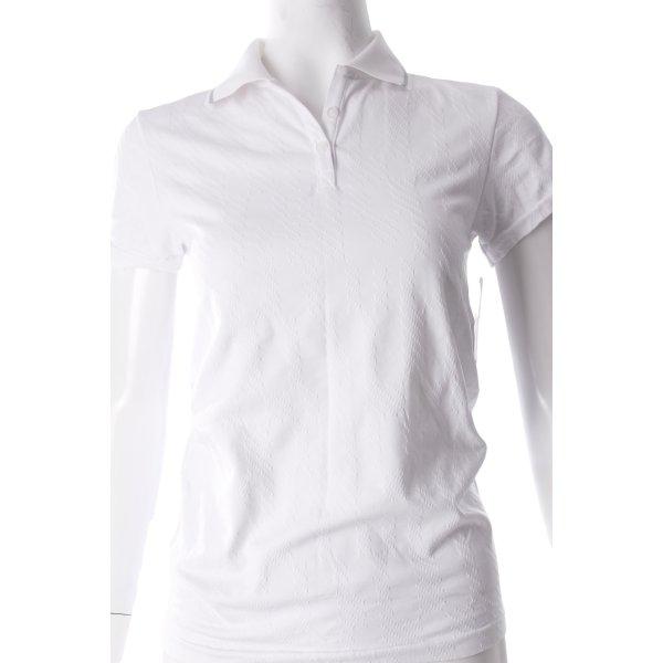 Reebok Polo-Shirt weiß sportlicher Stil