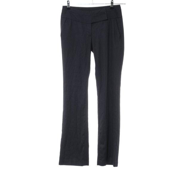 Reserved Anzughose schwarz Casual-Look