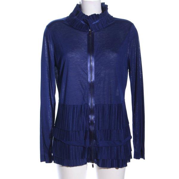 Riani Shirtjacke blau Casual-Look