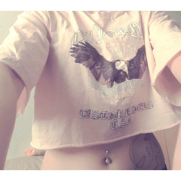 Anna Dello Russo for H&M Print Shirt cream
