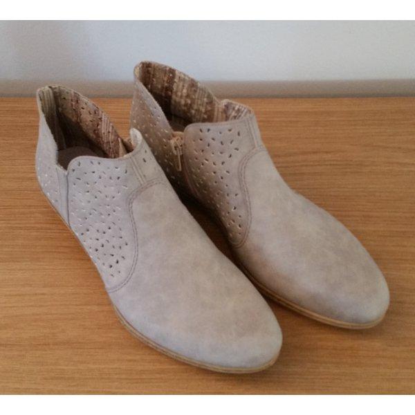 Rieker Ankle Boots grau-hell Gr. 40