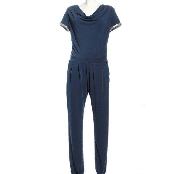 Rinascimento Jumpsuit blau-weiß Casual-Look